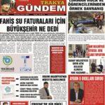 Trakya Gündem Gazetesi 294. Sayı