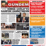Trakya Gündem Gazetesi 295. Sayı