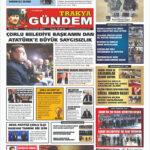 Trakya Gündem Gazetesi 304. Sayı