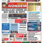 Trakya Gündem Gazetesi 306- 307. Sayı