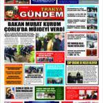 Trakya Gündem Gazetesi 308. Sayı