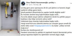PANDEMİ DÖNEMİNDE ESNAFA İŞKENCE