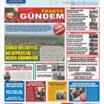 Trakya Gündem Gazetesi 310-311 Sayı