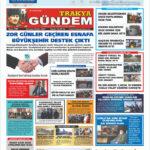 Trakya Gündem Gazetesi  309. Sayı
