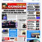 Trakya Gündem Gazetesi 312. Sayı