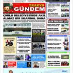 Trakya Gündem Gazetesi 313. Sayı